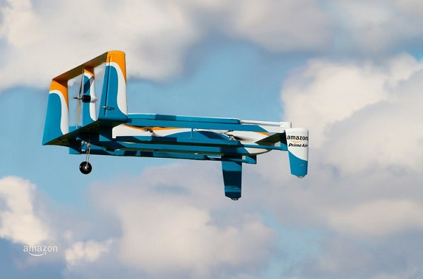 亚马逊公布了新款的无人机,或许使用无人机送货日子已经将要来临