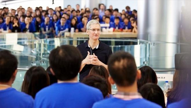 在苹果公司工作是一种什么体验?这些人可以回答你