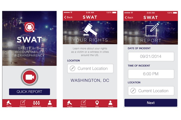 App取代执法记录仪:行为数据也可以做证据