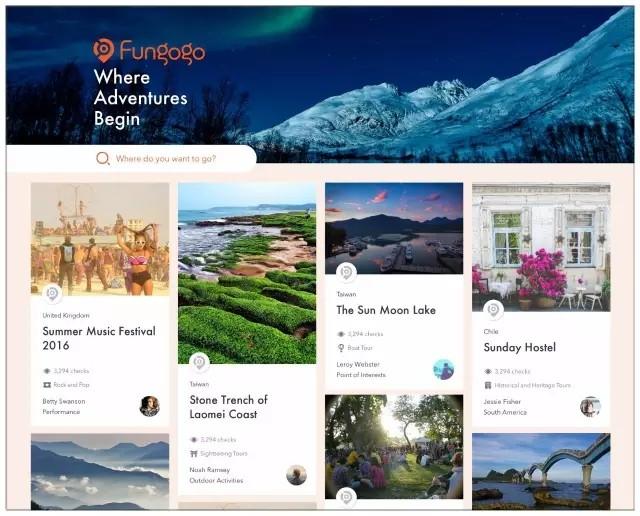 """个性化旅行平台""""Fungogo"""":怎么用5秒为旅行者拽出一个行程"""
