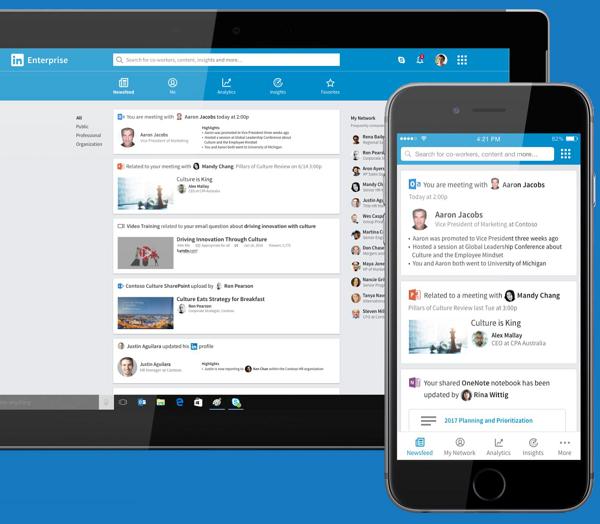 完成收购,微软将如何把 LinkedIn 整合至 Office?