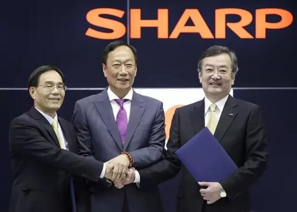 中国反垄断部门批准富士康 38 亿美元收购夏普