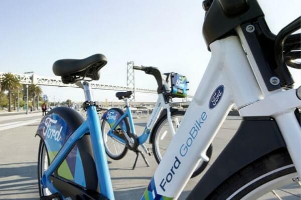 最近很受关注的共享自行车,福特也布局了 | 新智驾