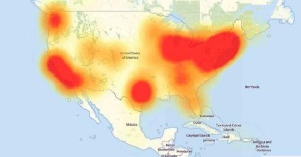 集体宕机,美国东海岸网站出大事了!