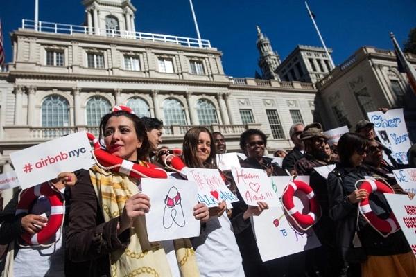 Airbnb 起诉纽约市政府