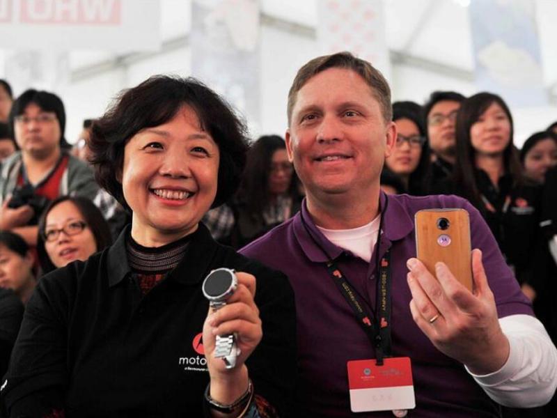 传言乔健将接替陈旭东掌管联想手机业务,国产手机圈将迎来一位女掌门人?