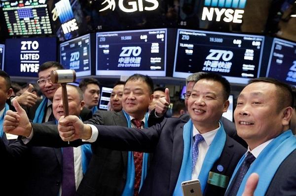 中通快递为何在美股市场上市后跌跌不休?
