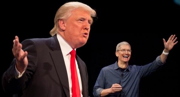 特朗普告诉库克:苹果得把生产线从中国搬回来
