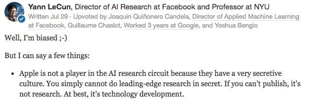拆掉城墙!苹果终于宣布要对外公布 AI 研究成果