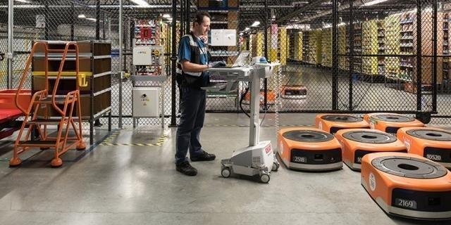 除了耳熟能详的 Kiva 机器人,亚马逊还有哪些智能物流应用案例?