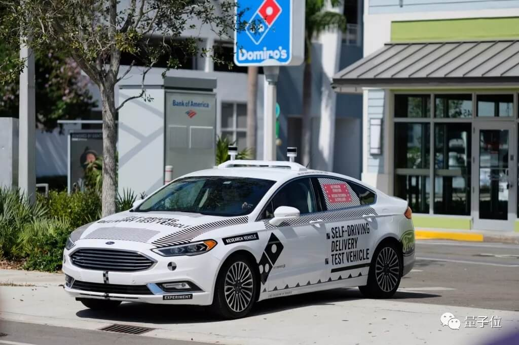 福特在迈阿密开始探索自动驾驶商业模式:先送比萨试试