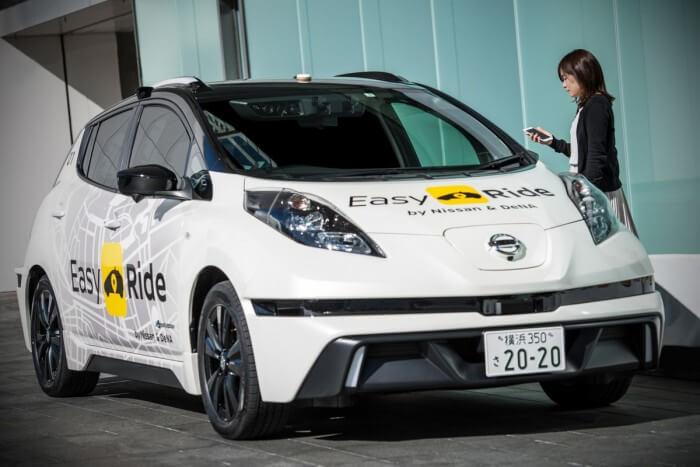 日产将与 DeTa 合作,推出自动驾驶出租车服务 Easy Ride