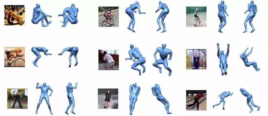 SkeletonNet:完整的人体三维位姿重建方法