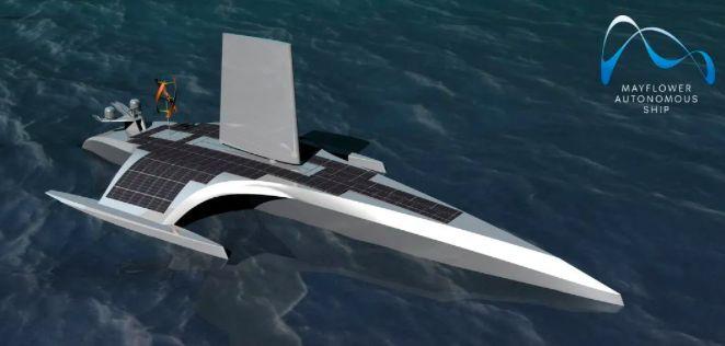 """纪念""""五月花""""号航行400周年,AI船长本月将横跨大西洋!"""
