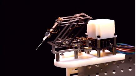 受折纸启发,哈佛大学团队打造微型外科机器人:可进行精密手术