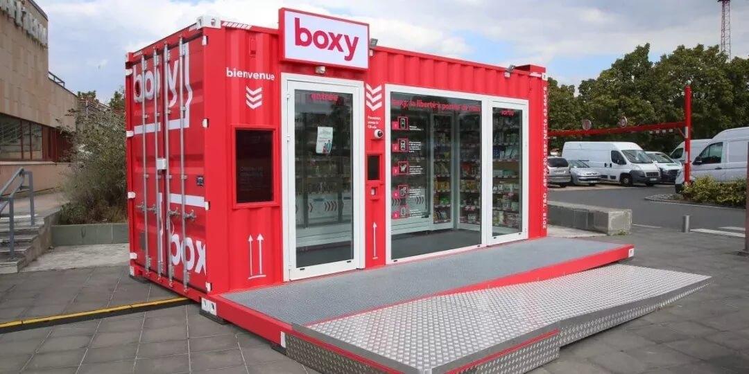 利用人工智能和计算机视觉,Storelift推出集装箱自主便利店